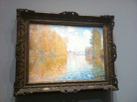 Claude Monet. Effet de l'automne à Argenteuil, 1883.