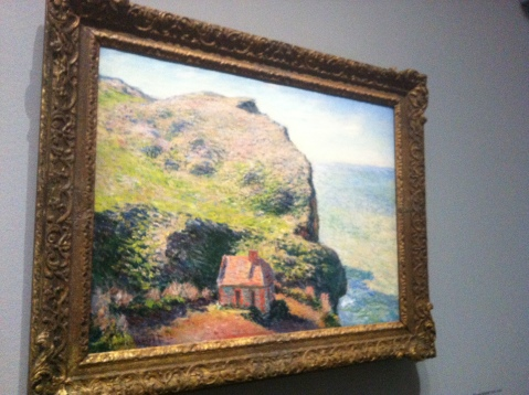 Claude Monet. Poste de douaniers. 1882.