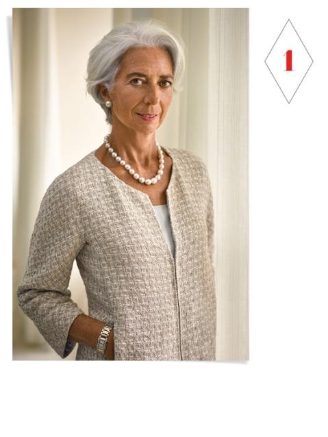 Christine Lagarde para Vanity Fair, em setembro de 2014.