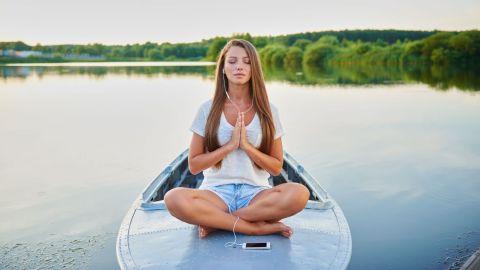 Les applications proposent souvent des programmes de méditation à personnaliser. Getty Images